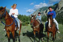 Horseback riding; Size=240 pixels wide